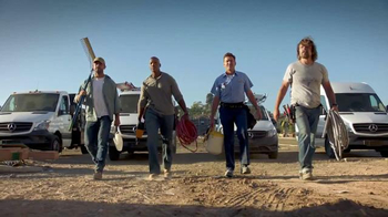 Mercedes-Benz Vans TV Spot, 'Strictly Professionals' - 959 commercial airings