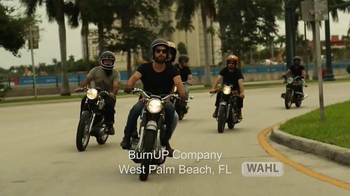 Wahl Clipper Co. TV Spot, 'Real Guys, Real Grooming: BurnUP Company'