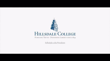 Hillsdale College TV Spot, 'Freedom' - Thumbnail 7