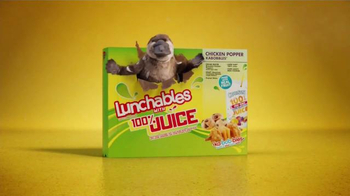 Lunchables With 100% Juice Chicken Popper Kabobbles TV Spot, 'Sculpting' - Thumbnail 7