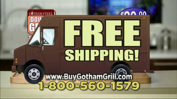 Gotham Steel Double Grill TV Spot, 'Nothing Sticks' Featuring Graham Elliot - Thumbnail 10