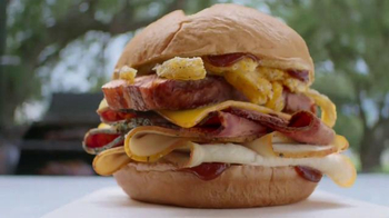 Arby's Smoke Mountain Sandwich TV Spot, 'Life or Death' Song by YOGI - 996 commercial airings