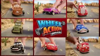 Disney Pixar Cars Wheel Action Drivers and Mack Playset: Action thumbnail