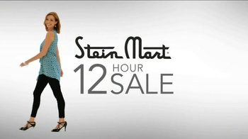Stein Mart 12 Hour Sale TV Spot, 'Dresses, Luggage and Bedding'