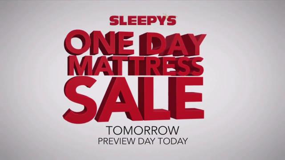 Sleepy S One Day Mattress Sale Tv Commercial Laura Ashley Boxspring Ispot Tv
