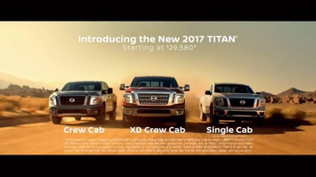 2017 Nissan Titan TV Spot, 'Day Shift: Cash Back' - Thumbnail 7