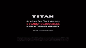 2017 Nissan Titan TV Spot, 'Day Shift: Cash Back' - Thumbnail 8