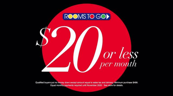 Rooms to Go TV Spot, 'Pick From 100' - Thumbnail 7