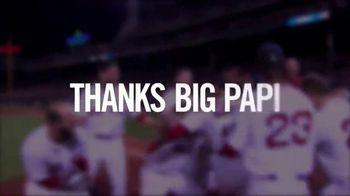 Major League Baseball TV Spot, 'Thanks Big Papi' Song by Rita Ora - 27 commercial airings