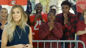 Pizza Hut TV Spot, 'ESPN: I'm a Fan Too' Featuring Samantha Ponder - Thumbnail 2