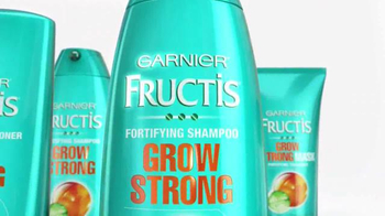 Garnier Fructis Grow Strong TV Spot, 'Longer Hair' - Thumbnail 3