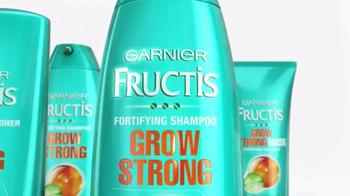 Garnier Fructis Grow Strong TV Spot, 'Longer Hair' - Thumbnail 3