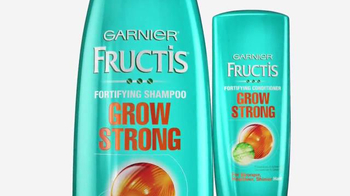 Garnier Fructis Grow Strong TV Spot, 'Longer Hair' - Thumbnail 5