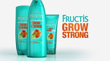 Garnier Fructis Grow Strong TV Spot, 'Longer Hair' - Thumbnail 9