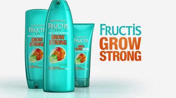 Garnier Fructis Grow Strong TV Spot, 'Longer Hair' - Thumbnail 9