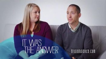 Brain Balance TV Spot, 'Testimonial: The Answer'
