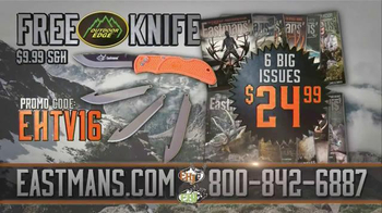 Eastmans' Hunting Journals TV Spot, 'Outdoor Edge Knife' - Thumbnail 6