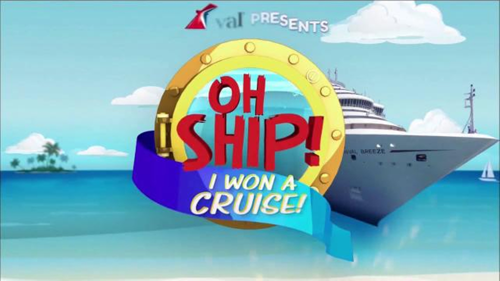 Carnival Oh Ship! Sweepstakes TV Commercial, 'Watch Ellen'