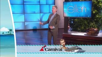 Carnival Oh Ship! Sweepstakes TV Spot, 'Watch Ellen' - Thumbnail 6