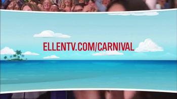 Carnival Oh Ship! Sweepstakes TV Spot, 'Watch Ellen' - Thumbnail 7