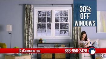 Champion Windows Pre-Winter Sale TV Spot, 'Special Financing'
