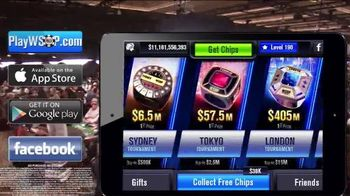 World Series of Poker App TV Spot, 'Claim Your Chips'