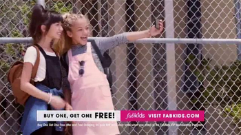 FabKids.com Buy One, Get One Free TV Spot, 'Fashionable' - Thumbnail 2