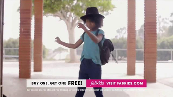 FabKids.com Buy One, Get One Free TV Spot, 'Fashionable' - Thumbnail 3