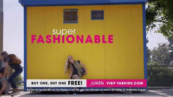 FabKids.com Buy One, Get One Free TV Spot, 'Fashionable' - Thumbnail 4