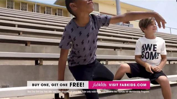 FabKids.com Buy One, Get One Free TV Spot, 'Fashionable' - Thumbnail 7
