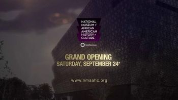 Smithsonian TV Spot, 'Museum of African American History & Culture'