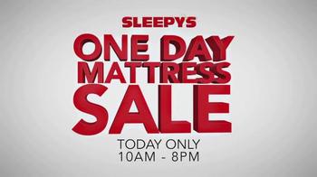 Sleepy's One Day Mattress Sale TV Spot, 'Gel Queen Sets' - Thumbnail 7
