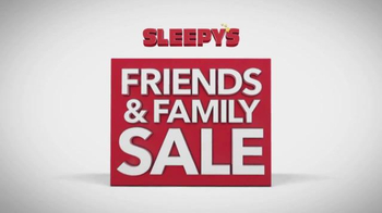 Sleepy's Friends & Family Sale TV Spot, 'Queen Sets' - Thumbnail 2