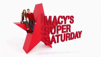 Macy's Super Saturday Sale TV Spot, 'Jewelry, Bras and Bedding'