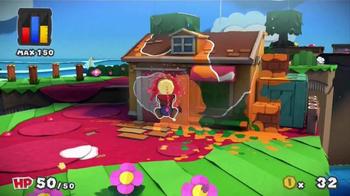 Paper Mario: Color Splash TV Spot, 'Paint the Town' - Thumbnail 3