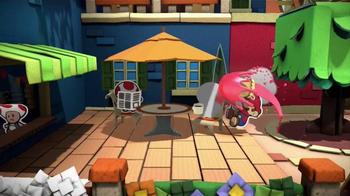 Paper Mario: Color Splash TV Spot, 'Paint the Town' - Thumbnail 5