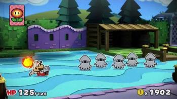 Paper Mario: Color Splash TV Spot, 'Paint the Town' - Thumbnail 6