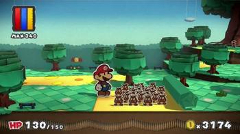 Paper Mario: Color Splash TV Spot, 'Paint the Town' - Thumbnail 7