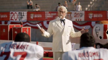 KFC $20 Fill Up TV Spot, 'Speech' Featuring Rob Riggle - 963 commercial airings