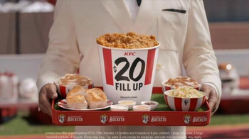 KFC $20 Fill Up TV Spot, 'Speech' Featuring Rob Riggle - Thumbnail 6