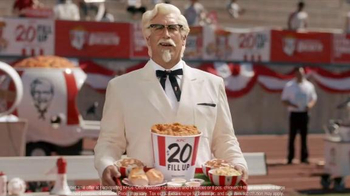 KFC $20 Fill Up TV Spot, 'Speech' Featuring Rob Riggle - Thumbnail 5