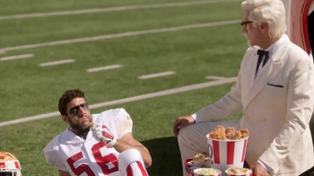 KFC $20 Fill Up TV Spot, 'Injury' Featuring Rob Riggle - Thumbnail 8