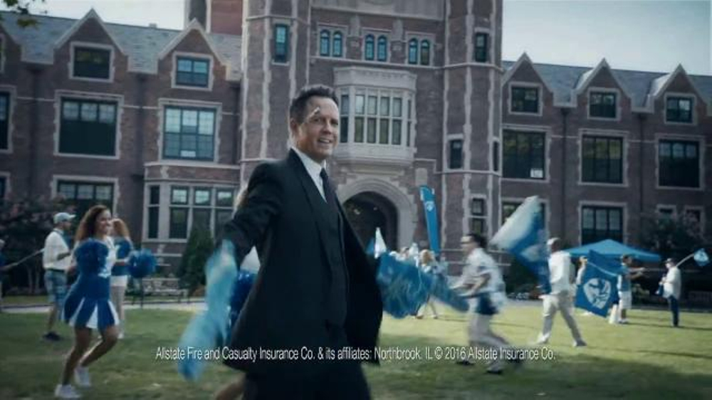 Allstate Accident Forgiveness TV Commercial, 'Mayhem: Sports Fan' Ft. Dean Winters