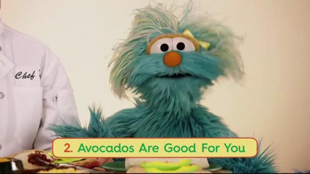 Avocados From Mexico TV Commercial, 'Sesame Street: A is for Avocado'
