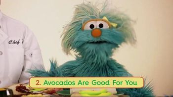 Avocados From Mexico TV Spot, 'Sesame Street: A is for Avocado'