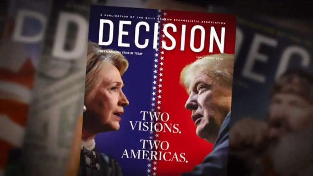 Decision Magazine TV Commercial, '2016 Presidential Election Guide'
