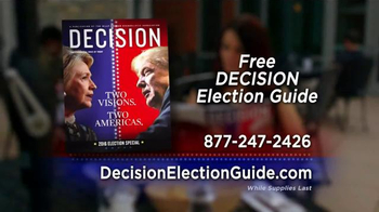 Decision Magazine TV Spot, '2016 Presidential Election Guide' - Thumbnail 7