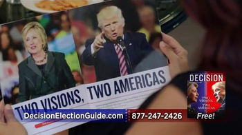 Decision Magazine TV Spot, '2016 Presidential Election Guide' - Thumbnail 4