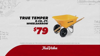 True Value Hardware TV Spot, 'Sweeper and Wheelbarrow'