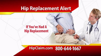 Gold Shield Group TV Spot, \'Hip Replacement\'